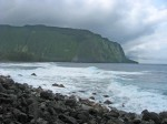 Beach at Waipio Valley