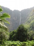 Falls at head of Waipio Valley, Hawai'i