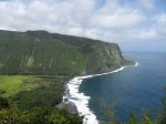 Waipio Valley from overlook, late morning