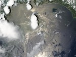NASA image of oil spill June 19 2010